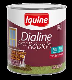 TINTA IQUINE DIALINE ESM SINT RAP 1/4 MARROM