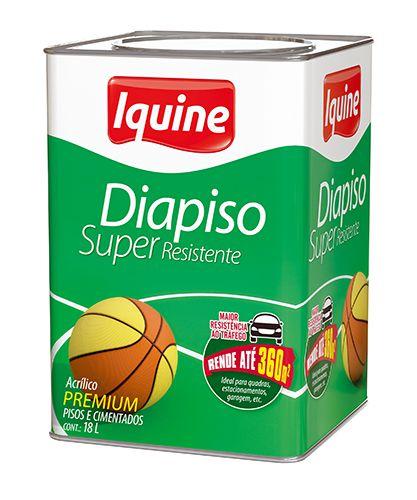 TINTA IQUINE DIAPISO SUP RESIST PRETO 18L