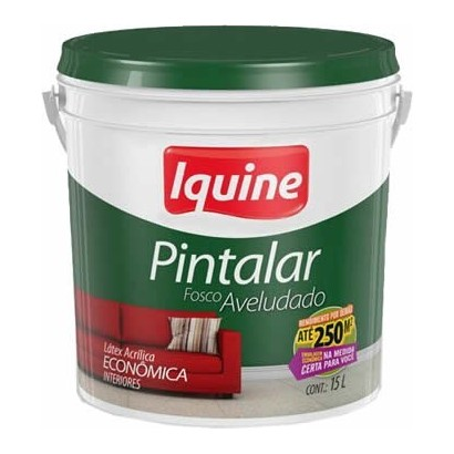 TINTA IQUINE PINTALAR V. ACRILICO 15L NEVE