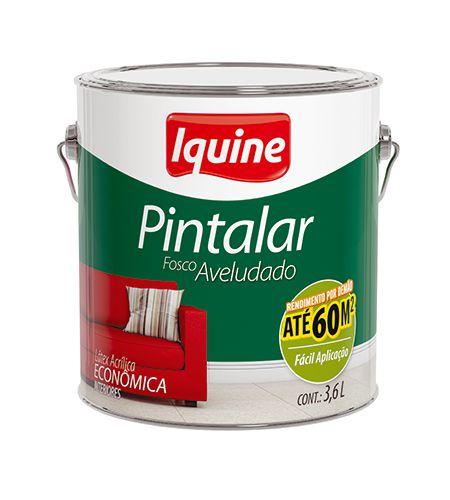 TINTA IQUINE PINTALAR V. ACRILICO GL AM CANARIO