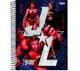 Caderno Espiral 15 Matérias 240 Folhas Liga da Justiça Dark – Jandaia – 26418