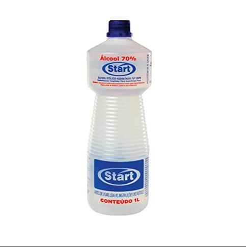 Álcool Líquido 70% Start   *Saúde*-6540
