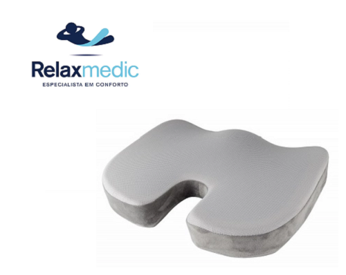 Almofada Cóccix Gel - Relaxmedic - 6748