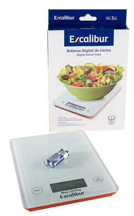 Balança Digital Para Cozinha Branca