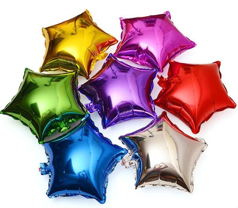 Balão Para Festa Estrelas Sortidas