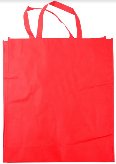 Bolsa Para Compras Vermelha -5559