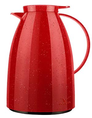 Bule Viena Gatilho 1l Vermelho Cerâmica
