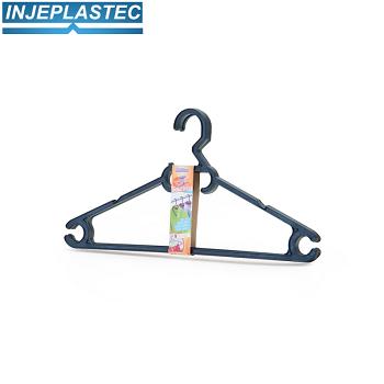 Cabide Imbatível Com 3 Peças Injeplastic - 8759