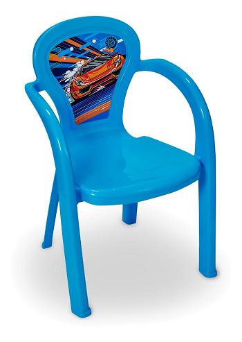 Cadeira Infantil Decorada Carro Usual-3708