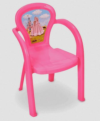 Cadeira Infantil Decorada Princesa Usual - 3706