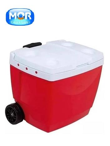 Caixa Térmica 42l Vermelha - Mor