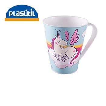 Caneca Unicornio Plasútil 360ml-314