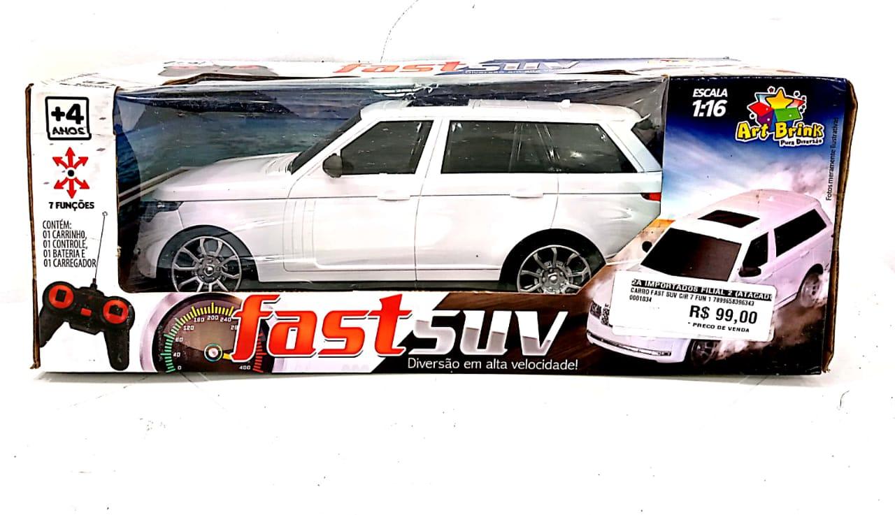 Carro Fast Suv C/R 7 Fun 1 - 1034