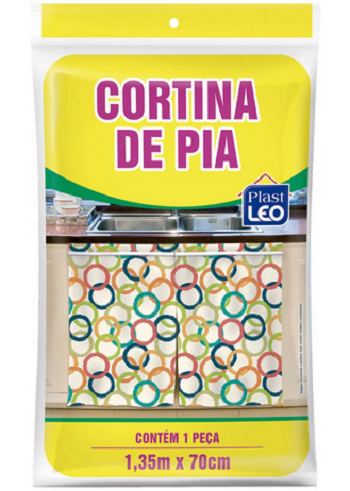 Cortina de Pia Polietileno 28.5 x 16 x 0,35 cm-5441