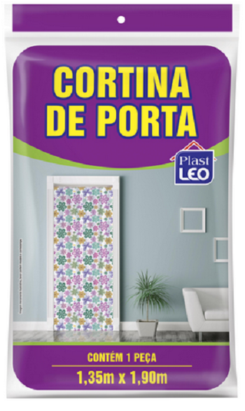 Cortina de Porta Polietileno 1,35m x 1,90m-5440