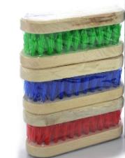 Escova Multiuso De Madeira Cores Sortidas