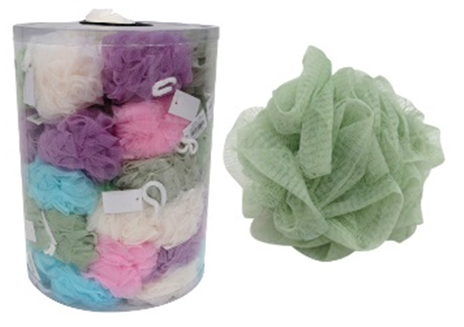 Esponja Plástica para Banho  *Unidade*