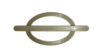 Fivela pp oval (par)- perola