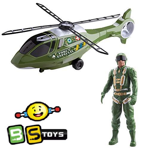 Helicóptero Resgate Com  Boneco  na Caixa -562