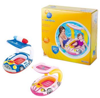 Inflável Plástico Com Proteção Para O Bebê Menino E Menina-5630