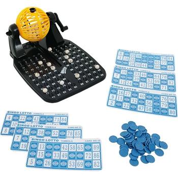 Jogo De Bingo Bingo Show Com 24 Cartelas E Globo Giratorio