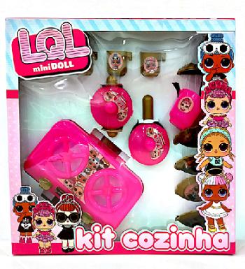 Kit Cozinha Imporluc  Lol Surprise- 6456