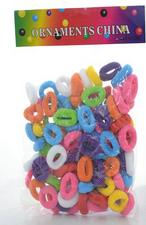 Kit Pompons Colorido Pequeno Fino 1