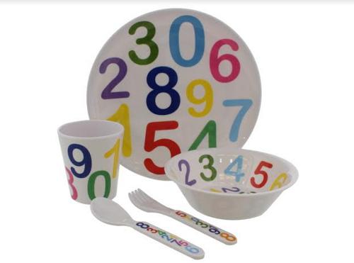 Kit Refeição Infantil  5 Peças-6123