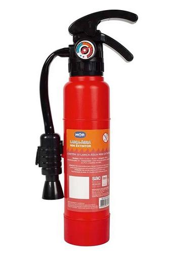 Lança Água  Mini Extintor