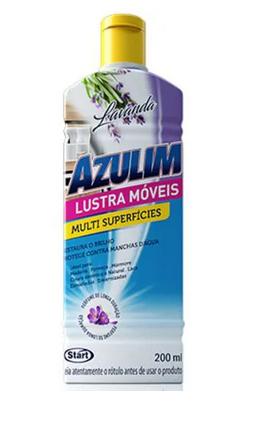 Lustra Moveis Azulim Lavanda 200 ml