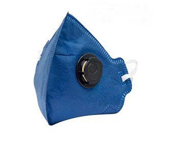 Máscara Respirador Dobrável  PFF2-CO V *Saúde*