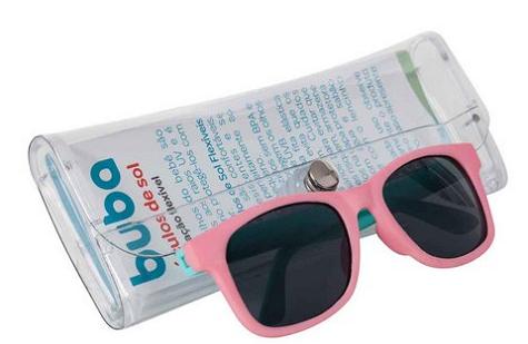 Óculos De Sol Do Bebê  Pinck Color Buba   recomendada (0-36m+)  - 6809