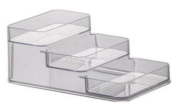 Organizadora Diamond Triplo 26x16 10 Cm 39