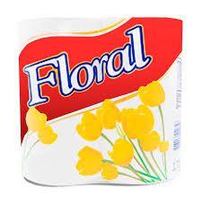 Papel Higiênico Floral Perfumado c/4 Und