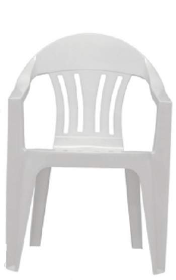 Cadeira Poltrona Merconplas Itália Branca