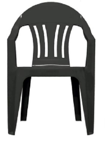 Cadeira Poltrona Merconplas Itália Preta