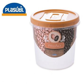 Pote Rosca Decorado Feijão Plasútil-3900