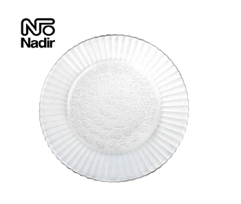 Conjunto de 06 Pratos Duralex  22.4 Cm - Fundo Primavera -  Nadir - 115619
