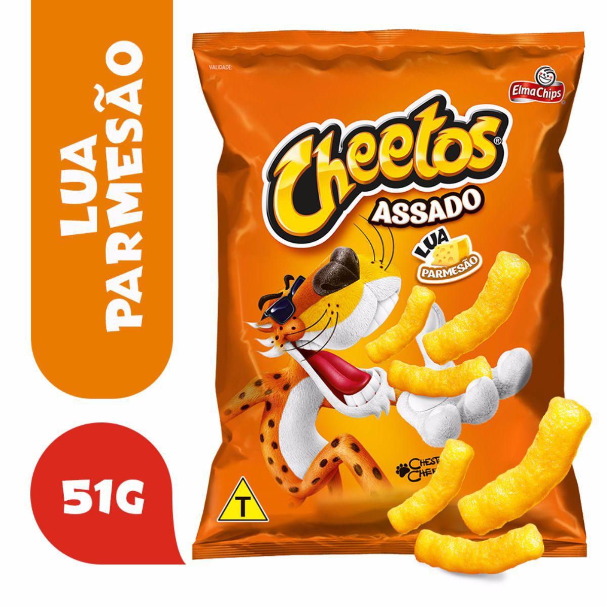 Salgadinho De Milho Sabor Parmesão Lua Cheetos 51g