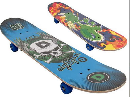 Skate  31X8 Estampas Sortidas