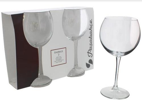 Taça de Vidro para Bebidas 2 Peças -6075