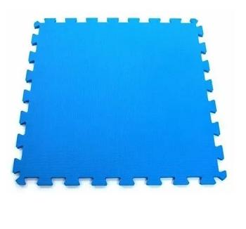 Tapete Tatame 100X100CMX10MM Azul - Evamax - 1712