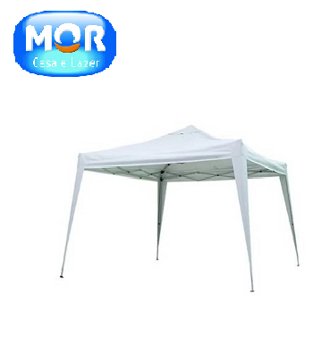 Tenda Gazebo X-Flex Oxford Branco  3,00x3,00m Mor-520