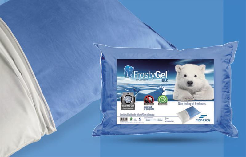 Travesseiro Fibrasca Frostygel Fibra Fibrasca - 6313