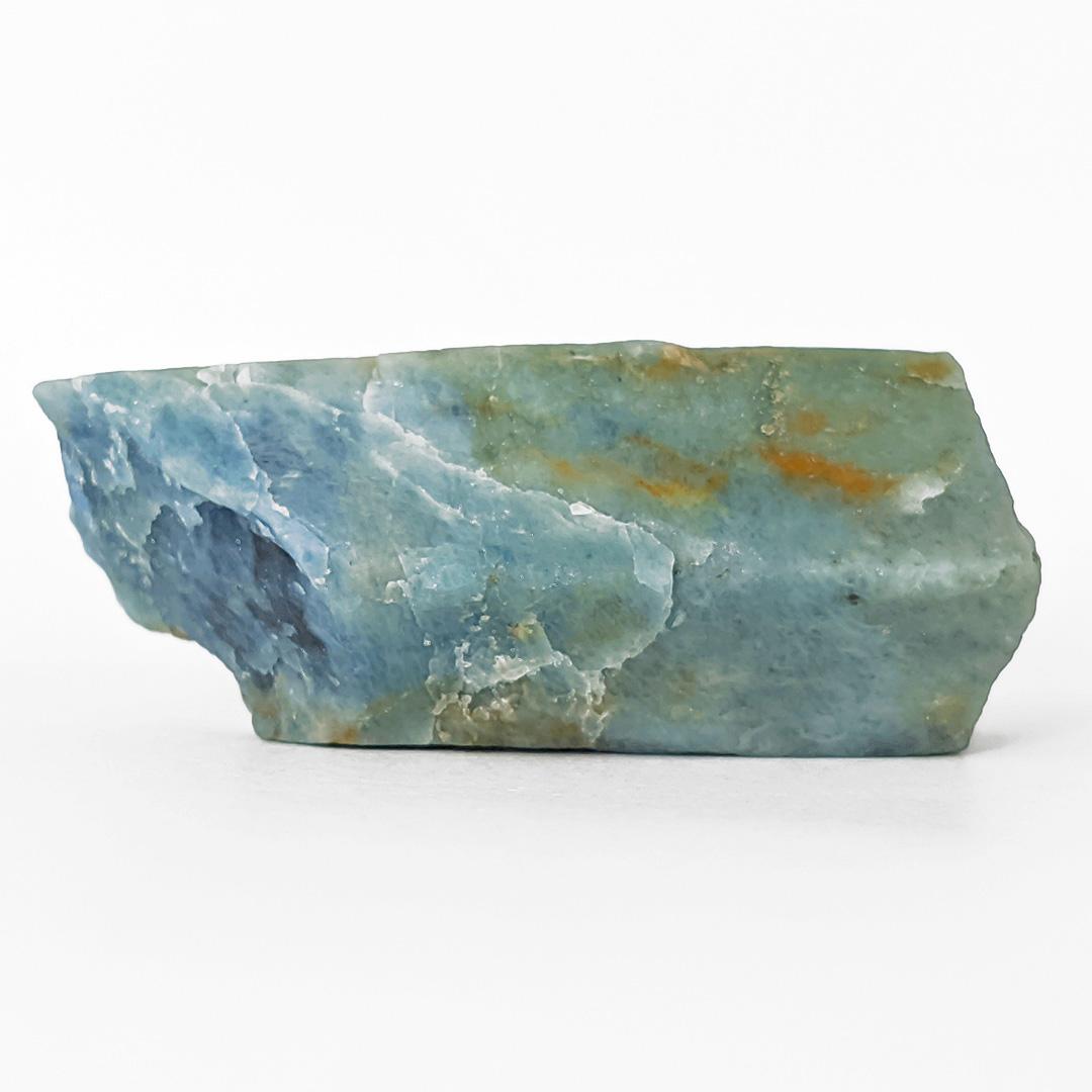 Água marinha prismática de coloração forte - 7,4 cm