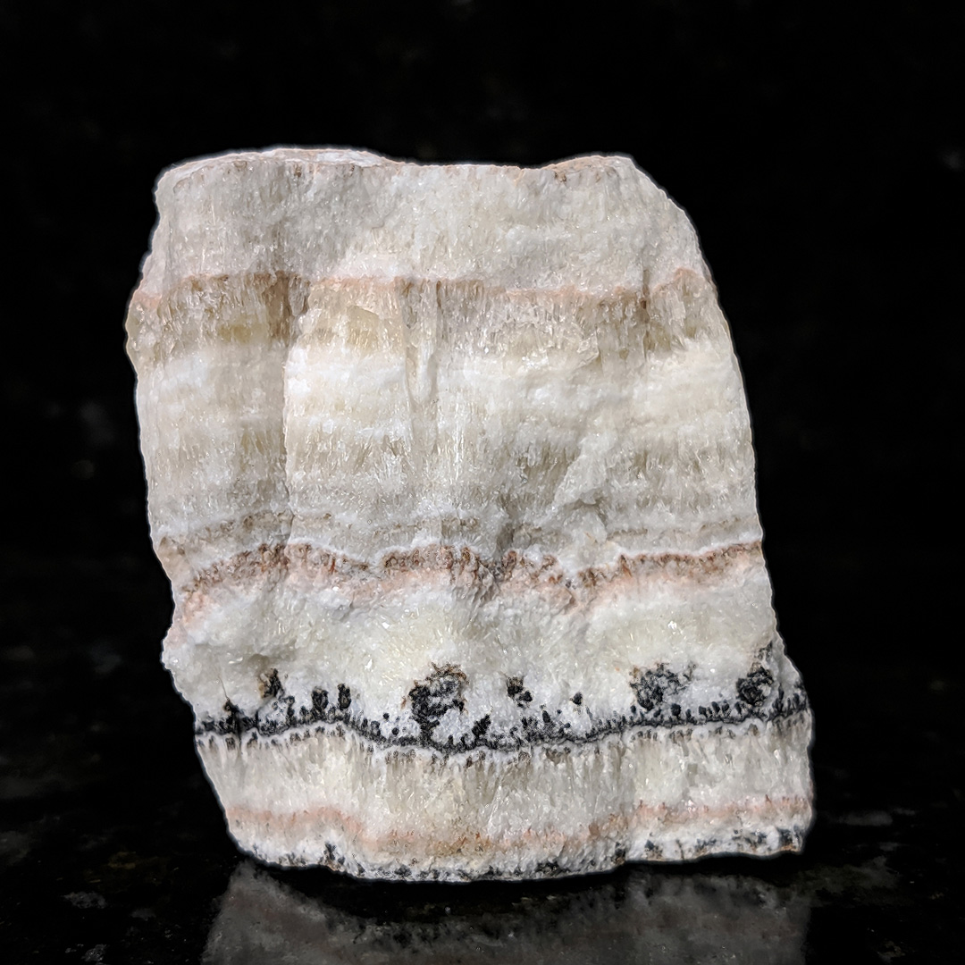 Aragonita com Calcita Paquistanesa - 6,6 cm