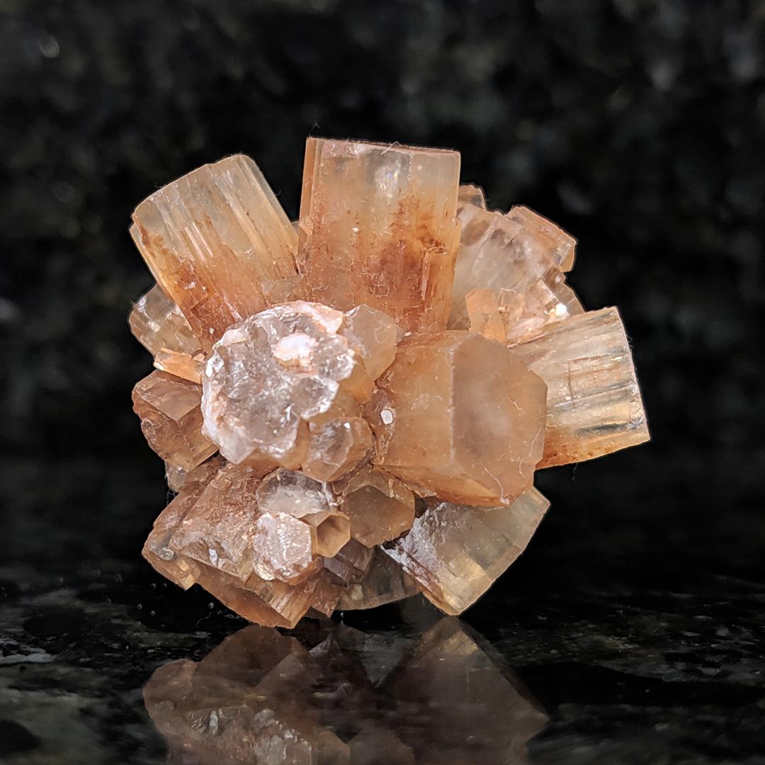 Aragonita sputnik - 4,1 cm