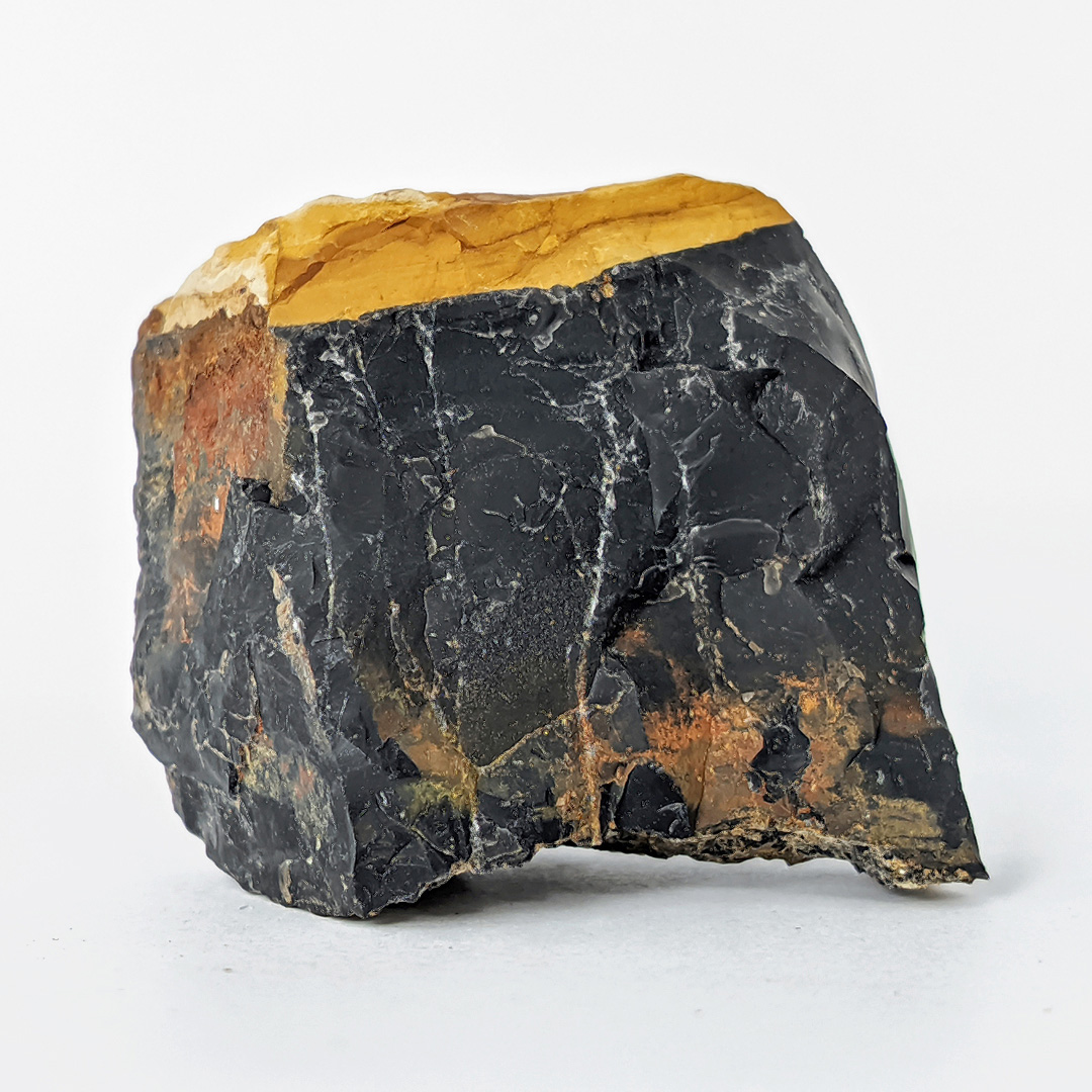 Calcedônia preta (ônix) - 6,5 cm