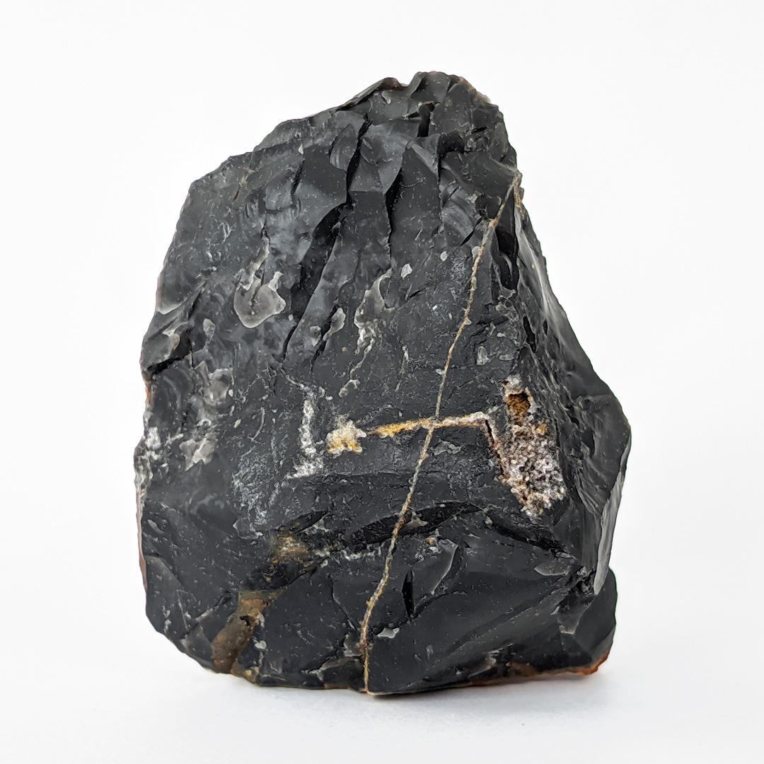 Calcedônia preta (ônix) - 6,6 cm