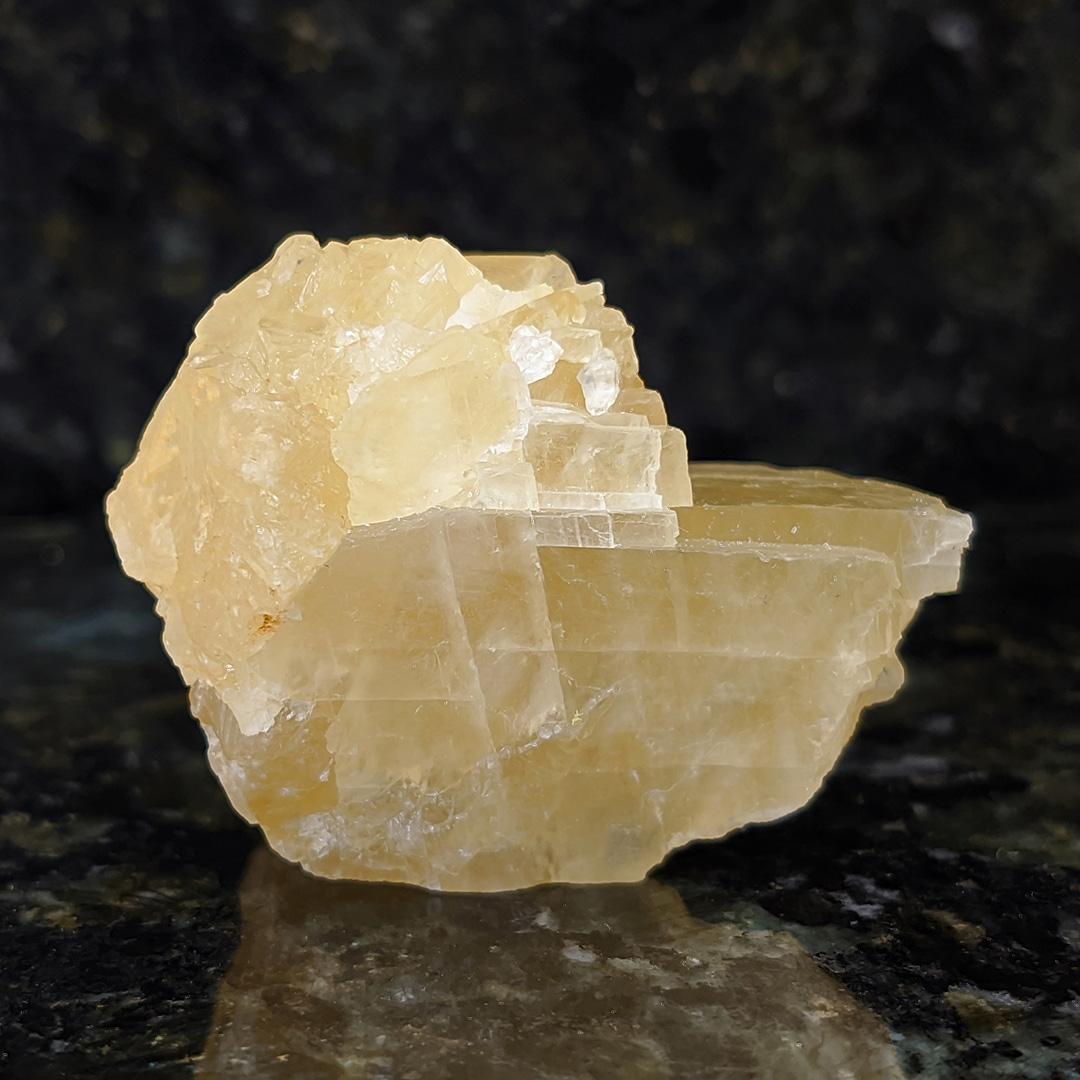 Calcita Amarela Mel - 4,8 cm